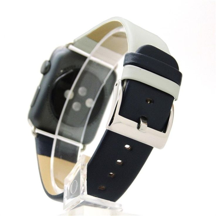 42mm Apple Watch Band, Unpara Sturdy Comfortable Stitching Color Leather Strap Replacement Watch Band For Apple Watch (C). Compatible For Apple Smart Watch 1/2. Material: Premium Leather; Suitable wrist 178-226MM. Leather strap, become soft, make your more wearing more comfortable. Contracted design style, with you life contracted and not simple. The size can be adjusted according to the circumstance of individual wrist.