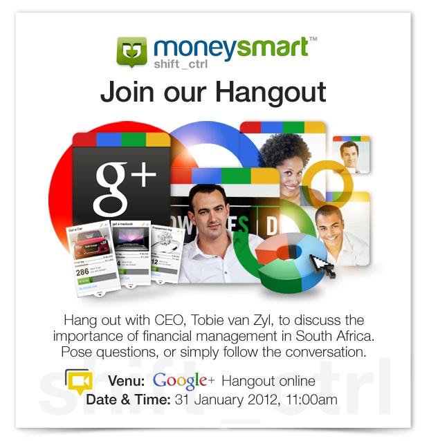 moneysmart Google+ Hangout emailer