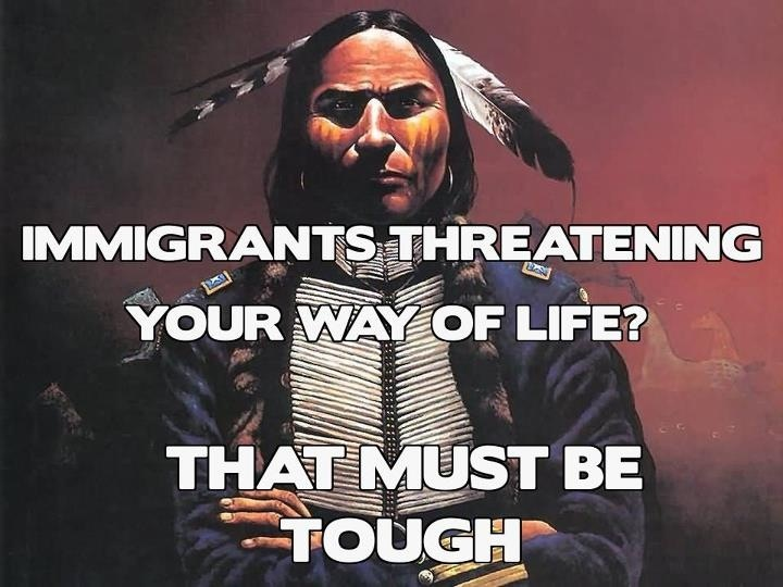 I am Native American, this has actual meaning to me.