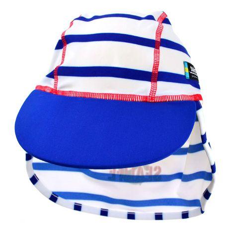 Accesorii bebelusi :: Trusoul bebelusului :: Articole de plaja :: Sapca copii SeaLife blue 1-2 ani protectie UV Swimpy
