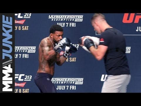 MMA Michael Johnson complete UFC 213 open workout