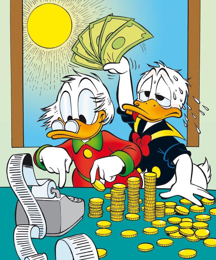 <3 Donald & Dagobert Duck <3