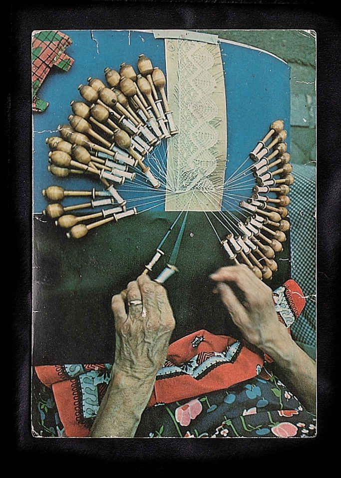 Next goal: learn to make bobbin lace like my grandma.