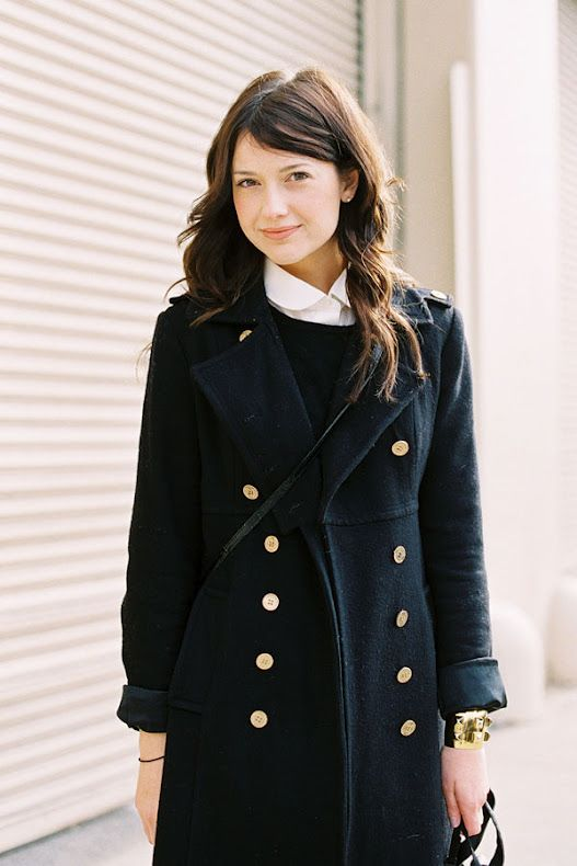 button-up coat