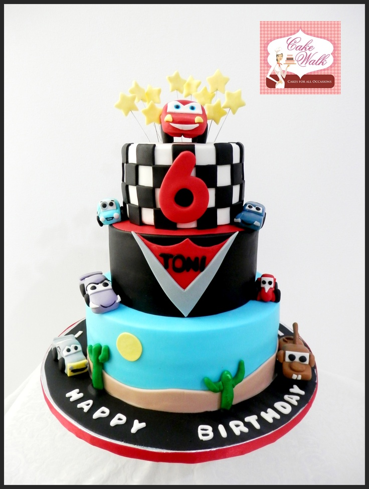 Cake Designs Disney Cars : 25+ Best Ideas about Cars Theme Cake on Pinterest ...