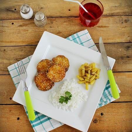 Rántott cukkini zöldbabsalátával Recept képekkel -   Mindmegette.hu - Receptek