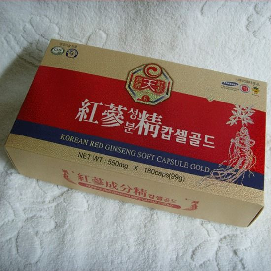KOREAN HEAVEN RED GINSENG CAPSULE [550mg*180Caps] / Vigor  recovery  ! #KOREANREDGINSENG