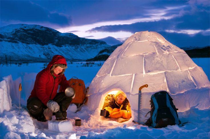 Sami Winter Market and Living in a Snowball in Jokkmokk, Sweden
