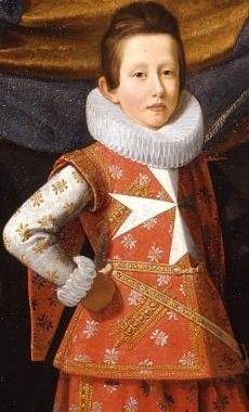 Firenze Uffizi, 2009 - Portret van Giovan Carlo Dei Medici in tien jaar als een ridder van Malta