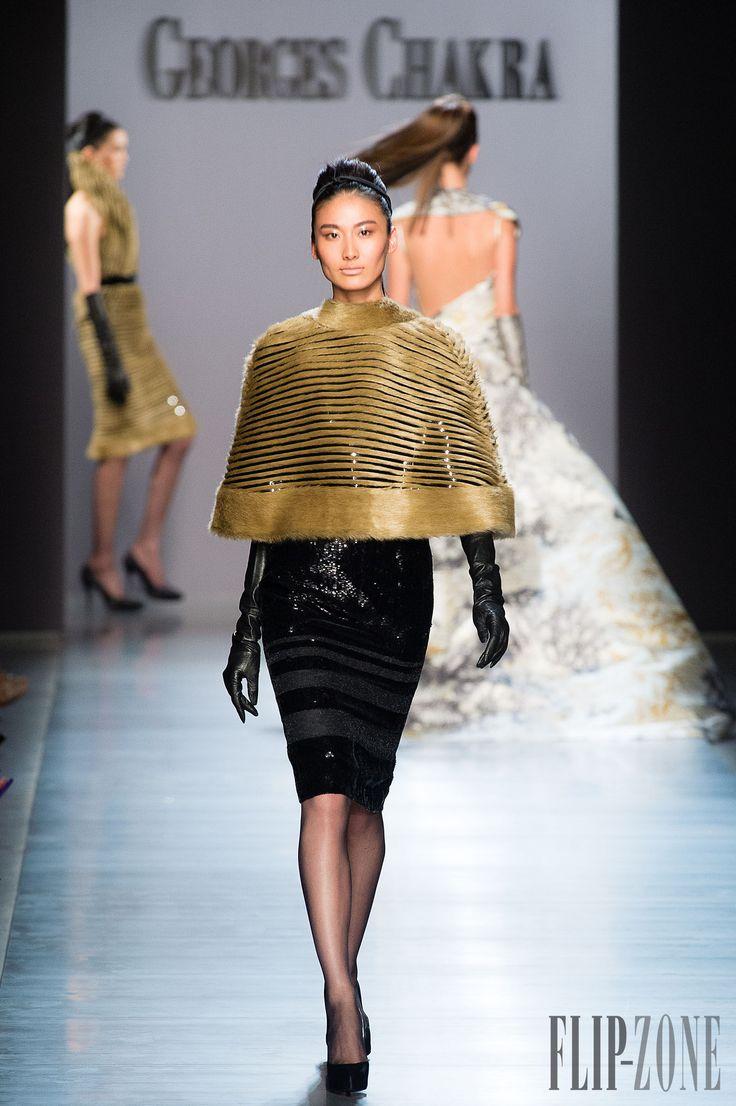 Жорж Чакра [Georges Chakra] Осень-Зима 2014-2015 - От кутюр - http://ru.flip-zone.com/fashion/couture-1/fashion-houses/georges-chakra-4814