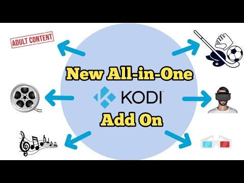 New All-In-One KODI add-on