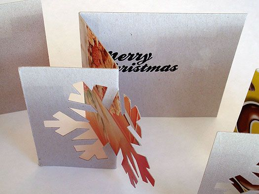 Snowflake Christmas Card by Urban Cottage Industries