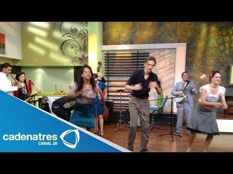 Calacas Jazz Band en el foro de Nuestro Día - YouTube