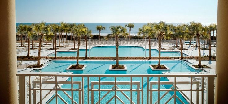 Myrtle Beach, SC resort hotel.
