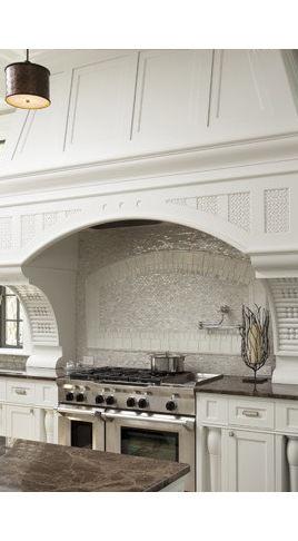 White kitchen backsplash - #kitchen #tiles