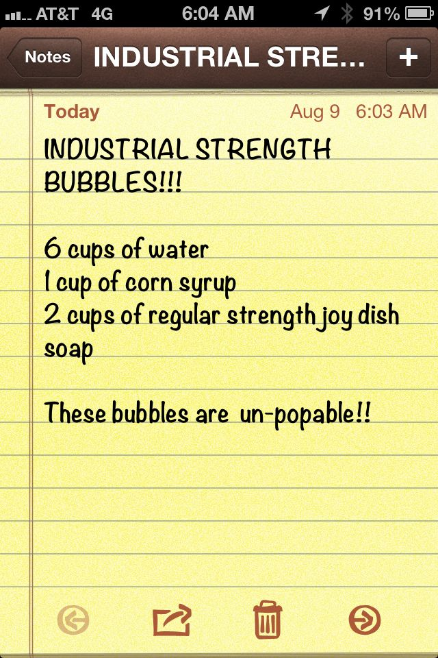 Industrial Strength Bubbles - make them at Pine Near RV Park.  www.pinenearpark.com