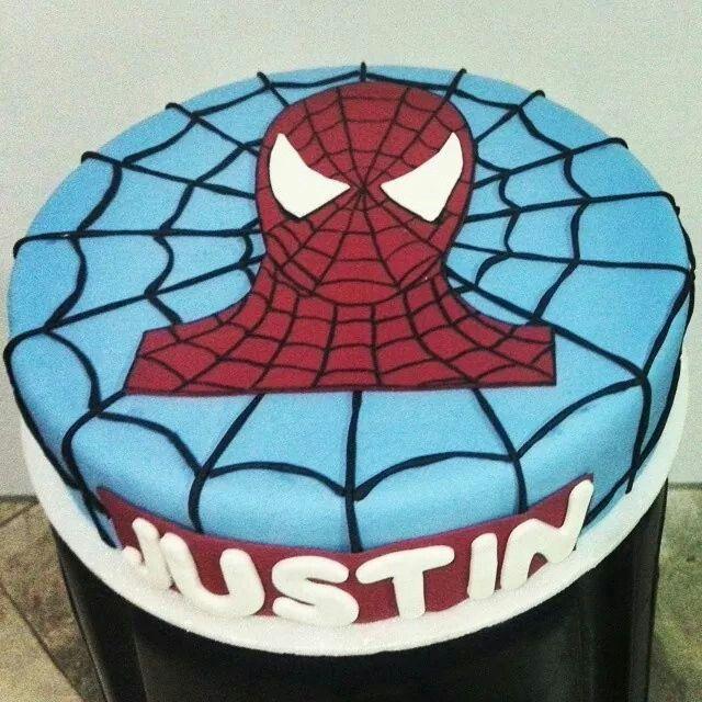 #cake #paulisbakery #spiderman #superhero
