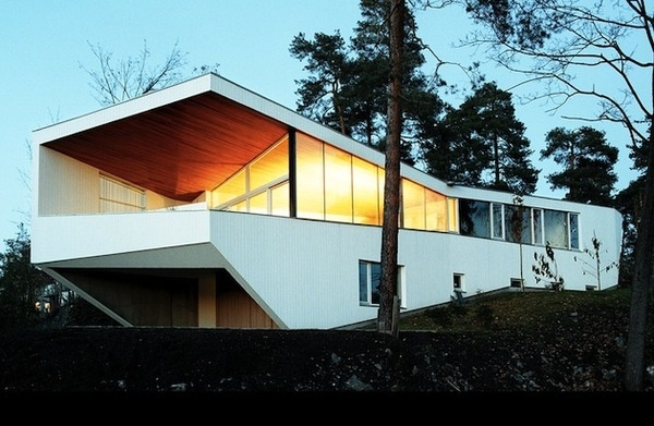 White House by JVA Located On Oslo Fjord 1