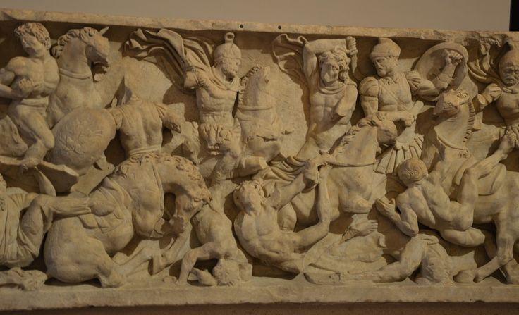 Sacophagus I d. C. Palace Altemps Rome  (my photo)