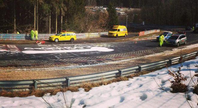 Sirkuit Nurburgring Ditutup Karena Grafiti Tidak Senonoh