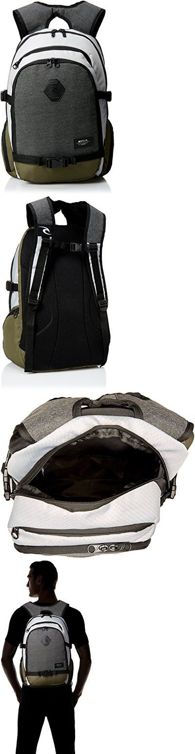 Other Skateboarding Clothing 159079: Rip Cur...Backpack School Book Laptop Gym Pack Camping Sports Hiking Bag Daypack -> BUY IT NOW ONLY: $74.86 on eBay!