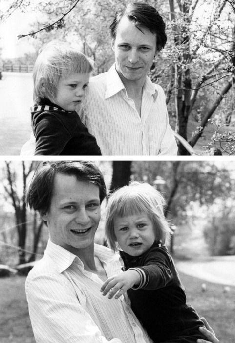 @Kendra Kravig @Natalie Romero Stellan Skarsgard and his son, Alexander.