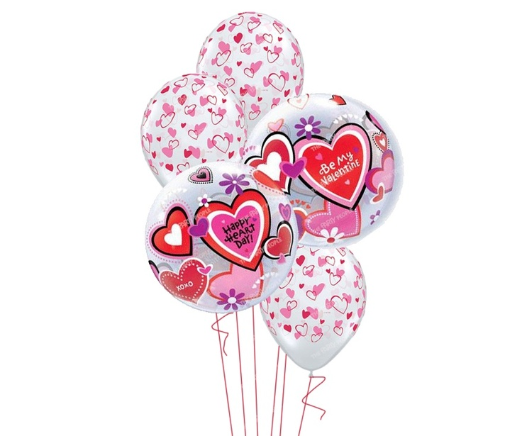 Valentine's Bouquet - Be My Valentine, Inflated