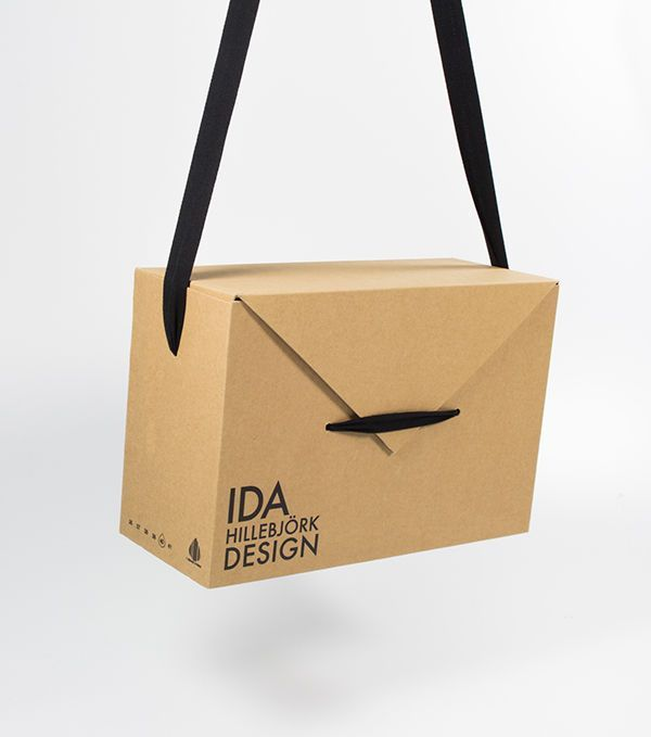 Image result for packaging box with fabric handle