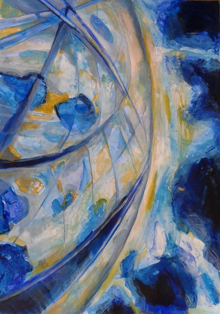 painting, Association, 2016, by Kateřina Veverková