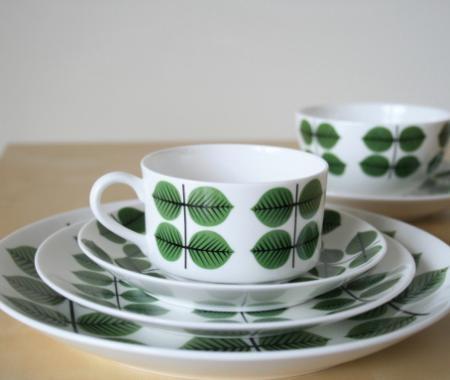Gustavsberg Berså porcelaine