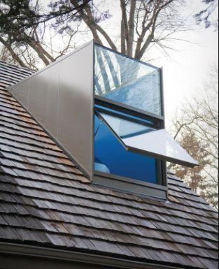 The Glass Dormer. Modern, Elegant and Expensive.