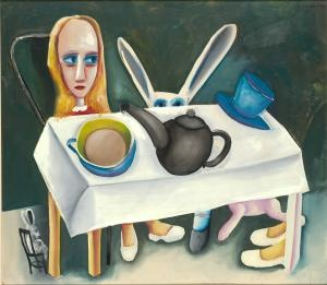 Alice in Wonderland. Charles Blackman.