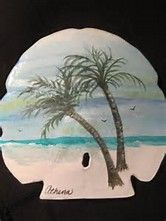 Image result for Athenas Art hand painted sand dollars