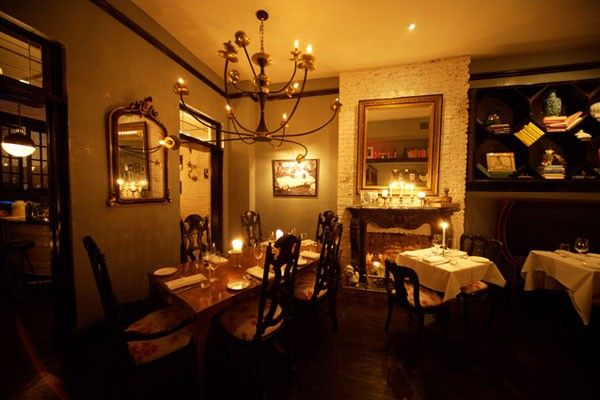 Do Date Night Right At 13 Of Our Favorite Romantic Restaurants  #refinery29  http://www.refinery29.com/date-night-restaurants-nyc#slide-13   Bobo Candles, sparkling chandeliers, overflowing bookshelves... Can you imagine your life together in this dreamy West Village townhouse? 181 West 10th Street (between West 4th street and Waverly place); 212-488-2626. ...