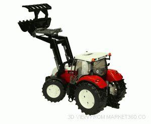 Steyr CVT Tractor 6230 with Frontloader bruder 03091