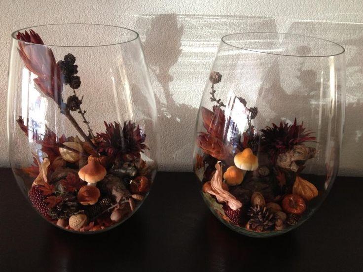 Fall deco herfst decoratie decoratie idee pinterest fall and deco - Idee decoratie voorgerecht ...