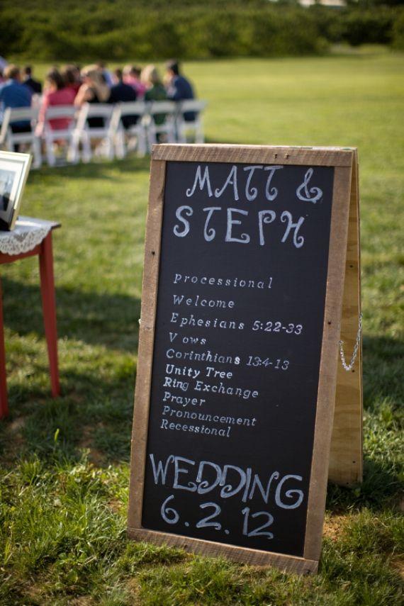 17 best images about wedding ideas on pinterest for Unique chalkboard ideas