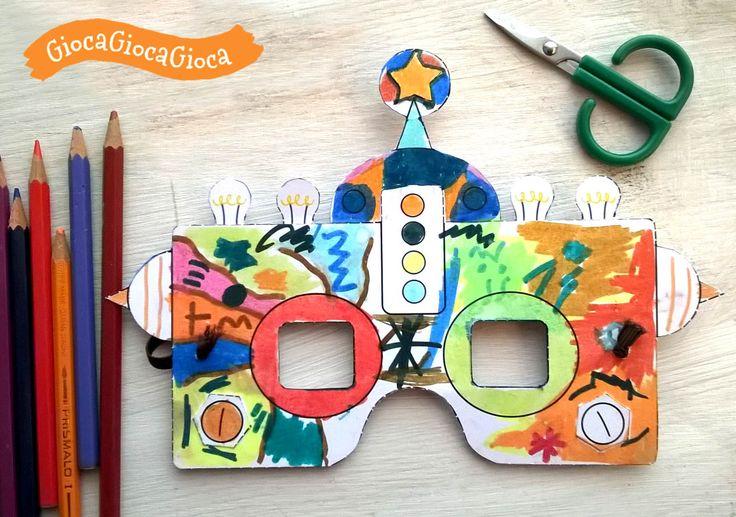 Mascherine da scaricare gratuitamente! http://www.giocagiocagioca.com/2017/02/maschere-carnevale-cartoncino-supereroi.html