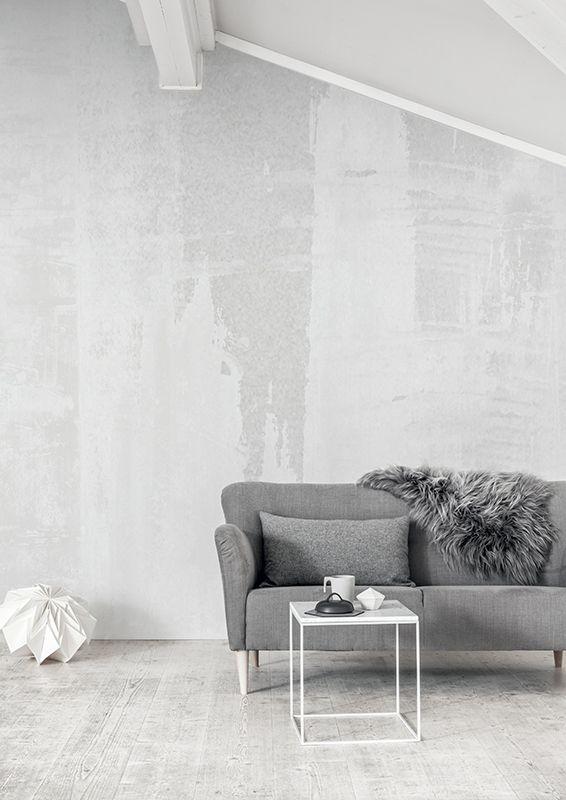 Eco White Light - Mural....diresti mai che è una carta da parati???