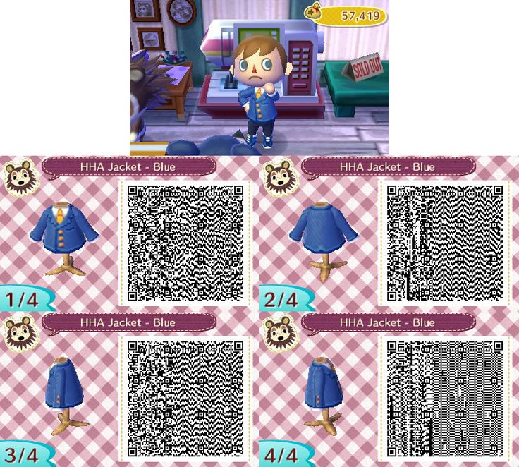 qr closet | animal crossing | pinterest | qr codes and cosplay