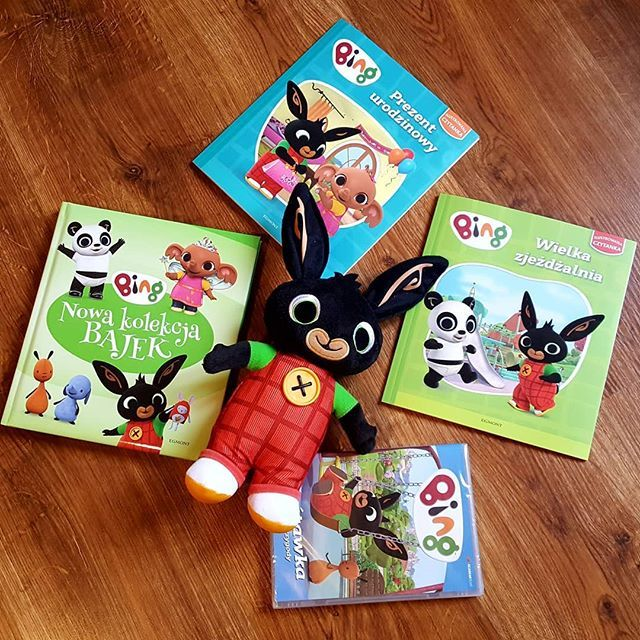 Są z nami fani Binga? Kakaludek uwielbia jego przygody! Do kolekcji brakuje nam jeszcze tylko trzeciej płyty bo drugiej już nie ma w sklepach :( #bing #minimini #bunny #króliczek #bajka #dzieci #book #dvd #książka #toddler #animation #egmont #egmontpublishing @egmontmedia