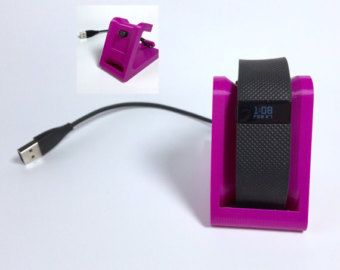 Fitbit Charge HR Charging Stand / Fitbit by MirandaMorganDesign