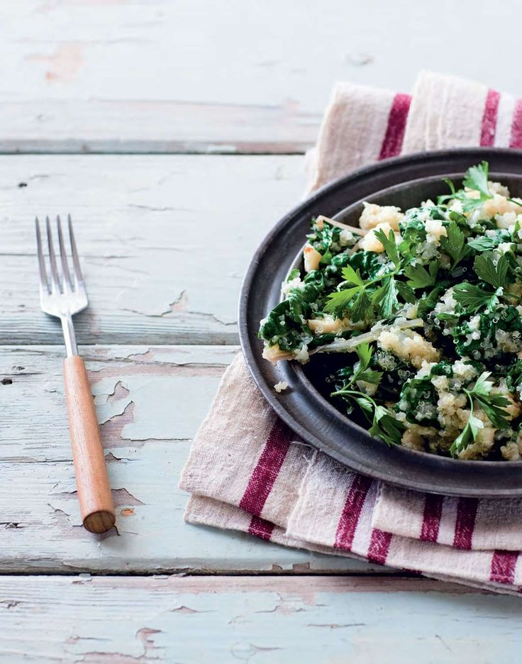 Quinoa with silverbeet by Ian Thorpe from Cook for Your Life | Cooked