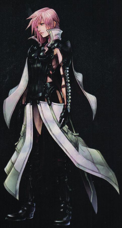 PS3/X360:『ライトニング リターンズ FFXIII』野村哲也氏によるライトニング設定画が公開 - PS3