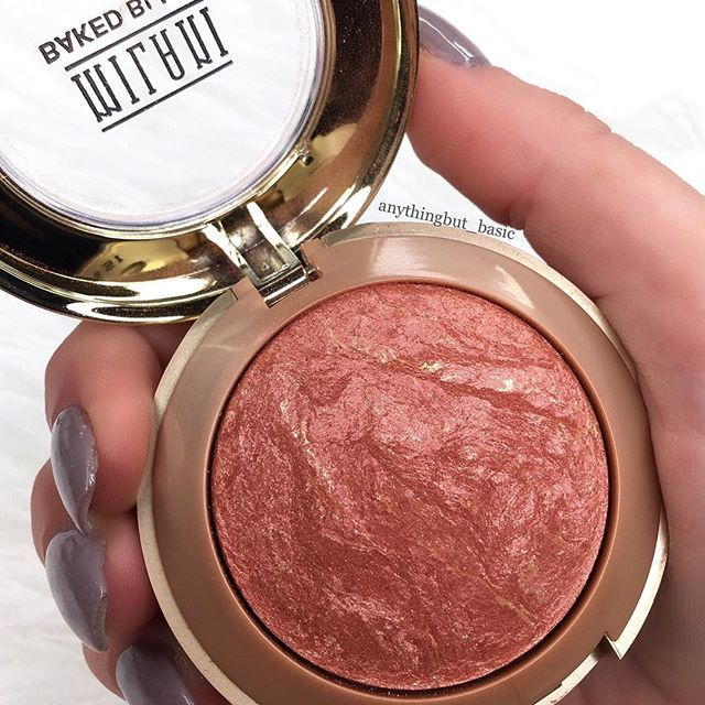 Number 1️⃣ Milani baked blush shade: Rose D'Oro