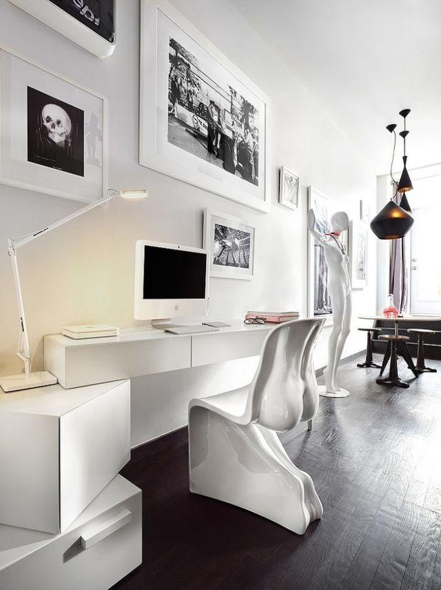 Die besten 25+ Modernes schreibtisch zubehör Ideen auf Pinterest - esszimmer design schwarz weis kontraste
