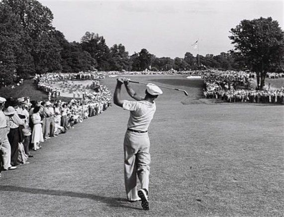 As you walk down the fairway of life you must smell the roses, for you only get to play one round. - Ben Hogan