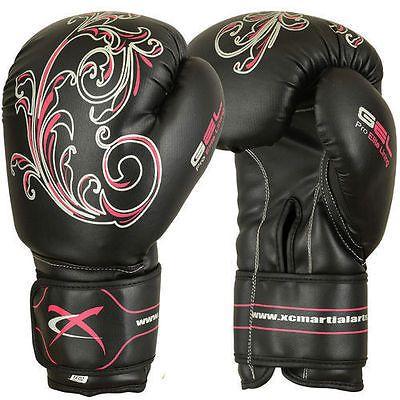 Kickboxing gloves - love the design on them!