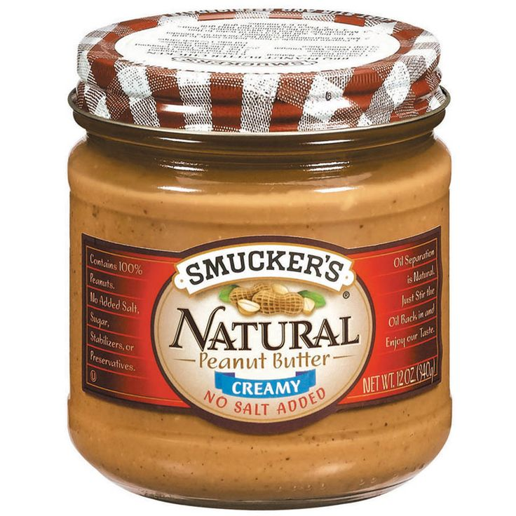 Natural+Creamy+Peanut+Butter+With+No+Salt+Added+