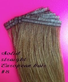 European Seamless Tape Hair Extensions Straight 8 With 6cm X1cm This Size Offers